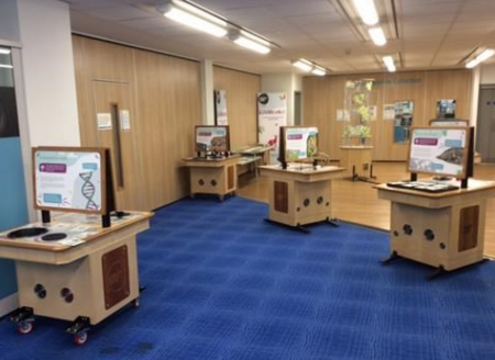 open space in the library