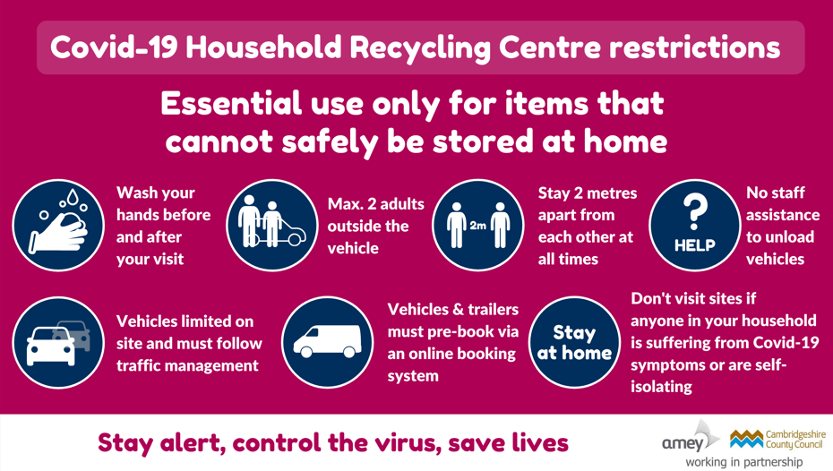 Household waste recycling centre restrictions