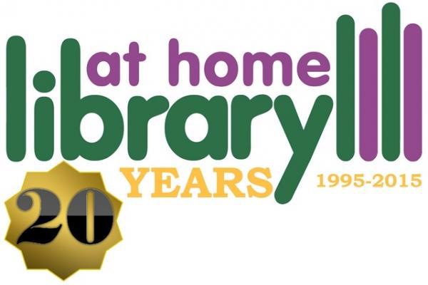 Library at Home service logo