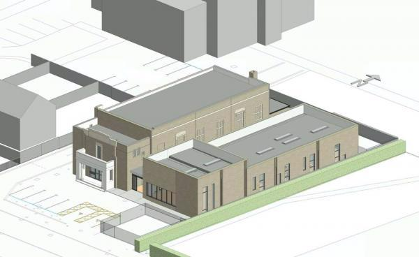 Sawston Library and Community Hub Design