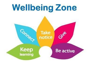 Wellbeing zone logo